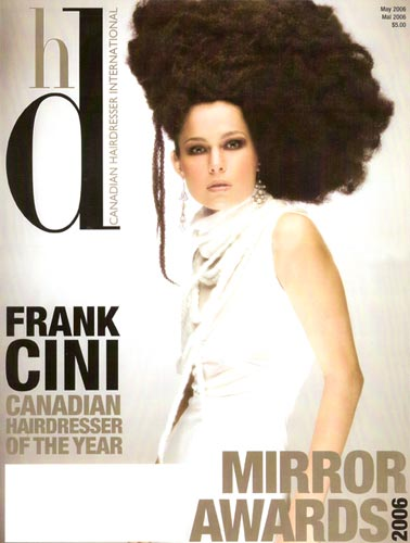 Frank Cini - Canadian Hairdresser of The Year 2006